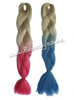 Colour Braid 2 farbig blond ombre